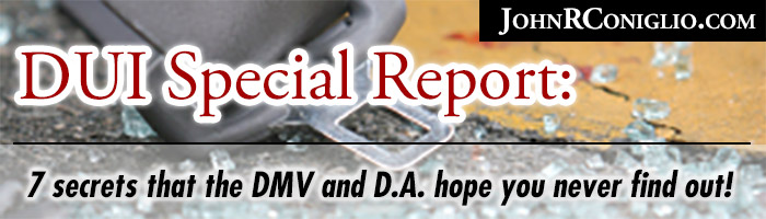 DUI Special Report: 7 secrets that the DMV and D.A. hope you never find out